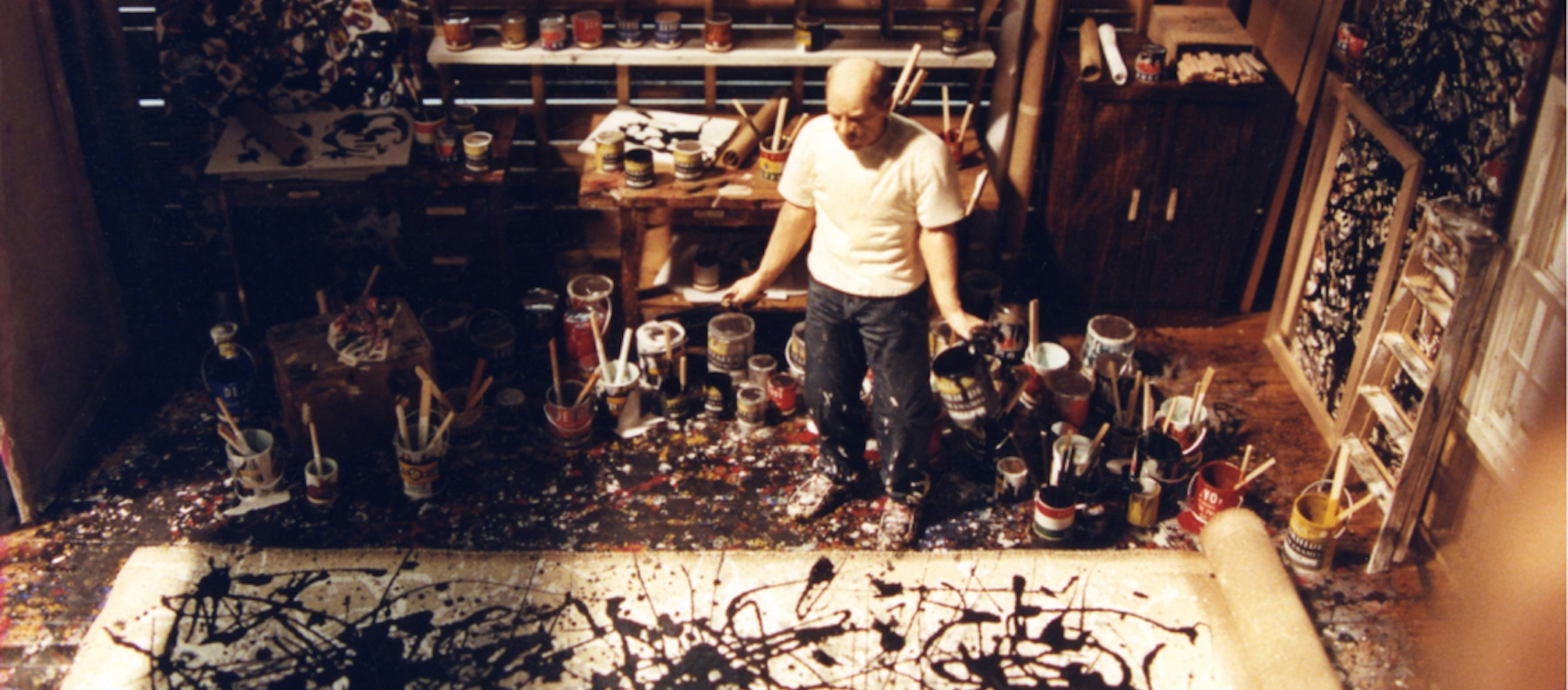 who is jackson pollock Available in: dvd filmmaker harry moses offers humorous and revealing insight into the art authentication process in america by documenting the remarkable.